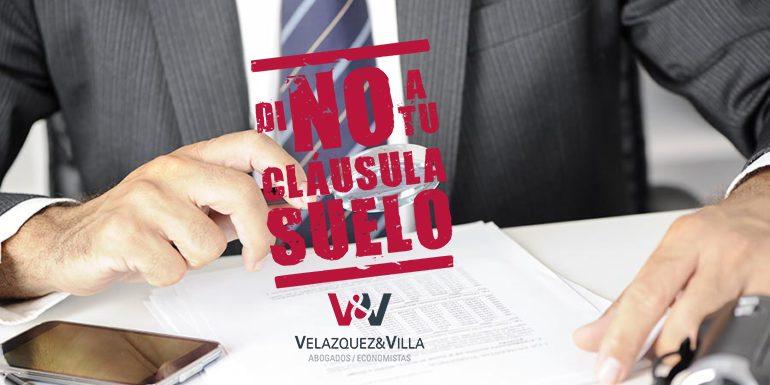 Devoluci n de cl usula suelo vel zquez y villa for Abogados clausula suelo