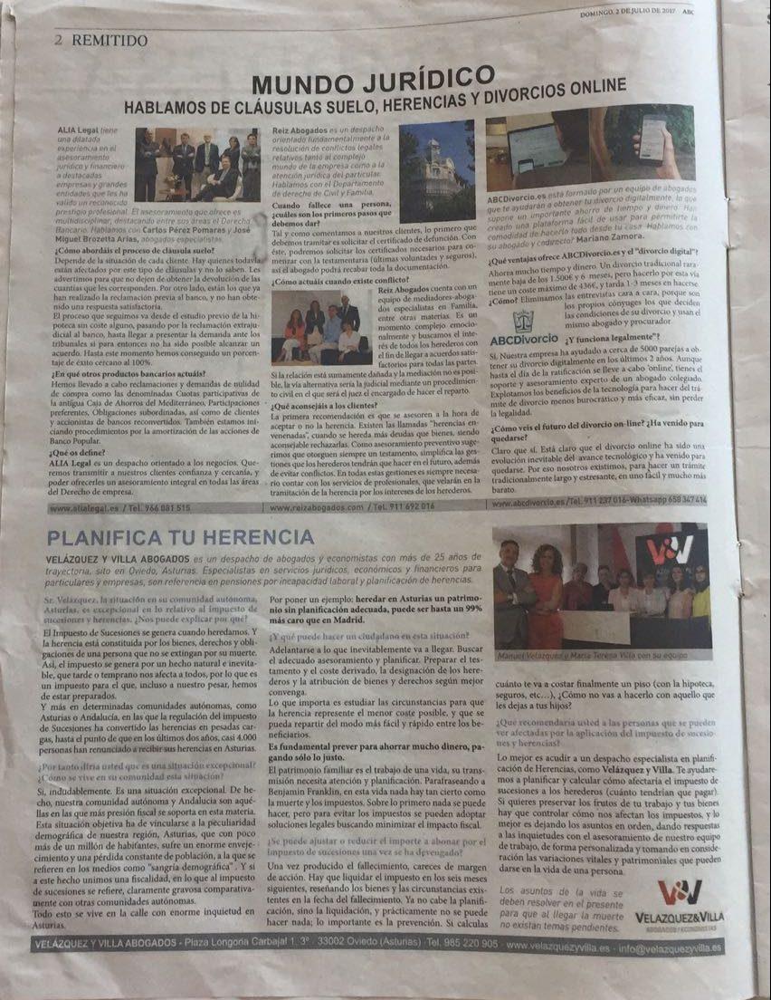 Herencias y Tributación Abogados Asturias