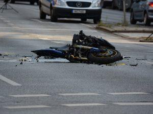 Accidente grave de moto