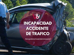 Incapacidad permanente por accidente de tráfico