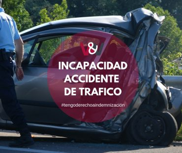 Incapacidad accidente de trafico